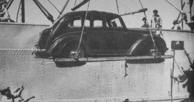 Primer auto importado después de la guerra